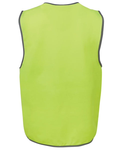 Men's hi vis safety vest, various colours, screeprinted, in quantities of 5,10,20, 50, from $10 each