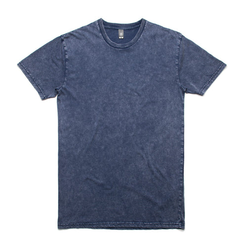 Men's stone wash t-shirts, screenprinted, in quantities of 10, 20, 50 or 100 , from $18 each