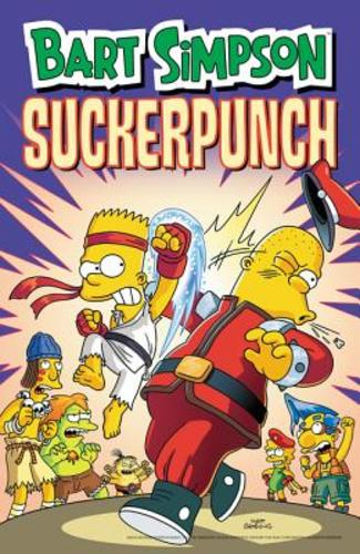 Bart Simpson Sucker Punch (Paperback), 9780062568939