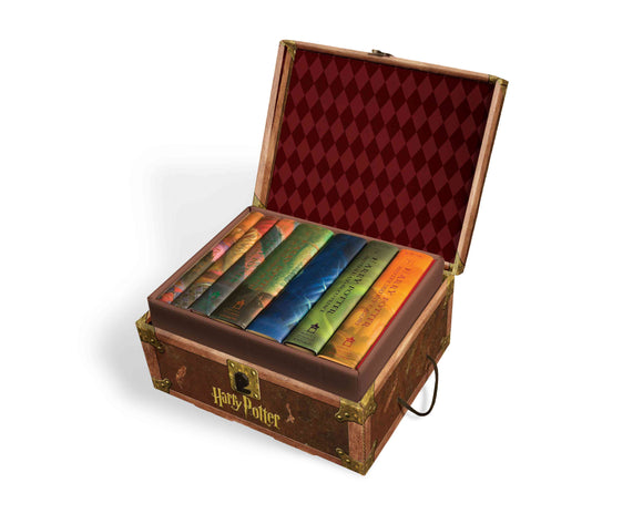 Harry Potter Hard Cover Boxed Set: Books #1-7 [With Stickers] (Boxed Set), 9780545044257