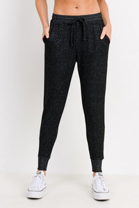 Drawstring Hacci Sweatpants