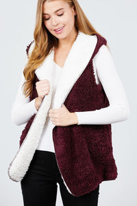 Reversible Cozy Bear Vest