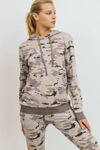 Pastel Camo Pullover Hoodie