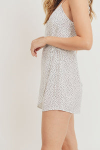 Polka Dots Spaghetti Strap Dress