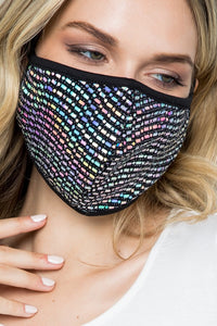 Matrix Disco Mask