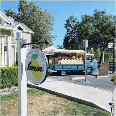 Poppy the Flower Truck Monthly Pop Ups in Danville