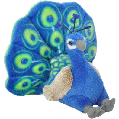 PEACOCK STUFFED ANIMAL