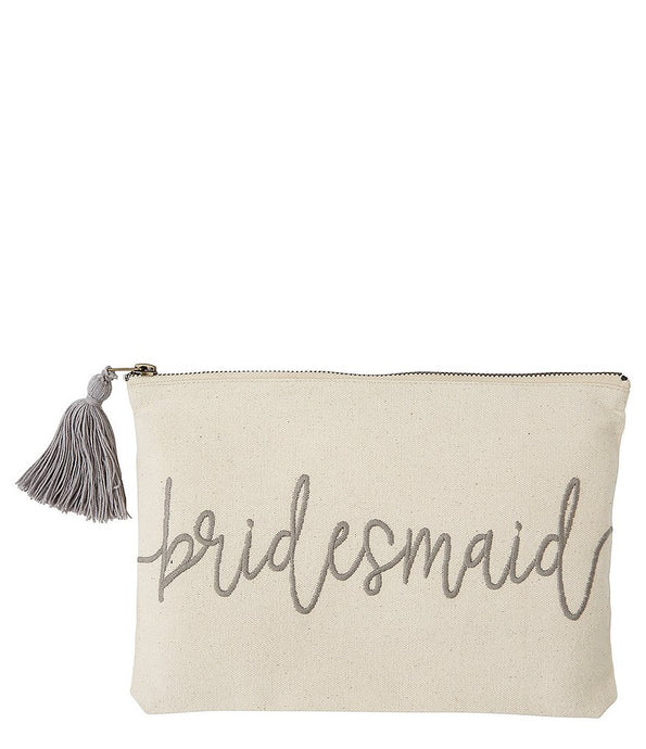 BRIDESMAID CARRY-ALL POUCH/BAG