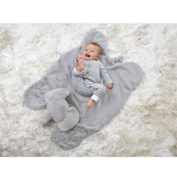 PLUSH ELEPHANT PLAY MAT