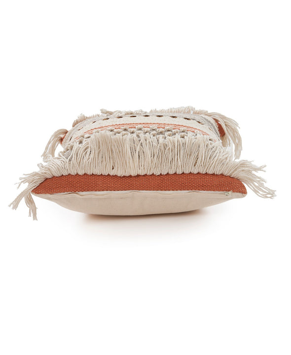 NATURAL CHIC THROW PILLOW