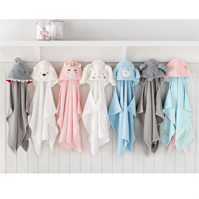 BABY ANIMAL HOODED TOWELS