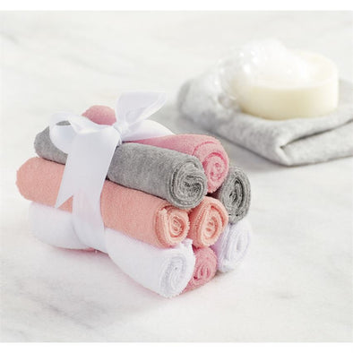 GIRLS WASH CLOTH SET