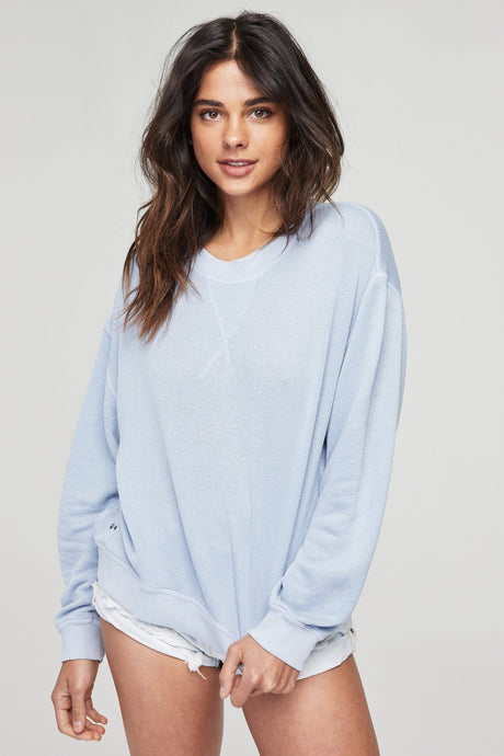 LOVED IN CREW SWEATSHIRT