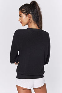RAINBOW CREW NECK SAVASANA - VINTAGE BLACK