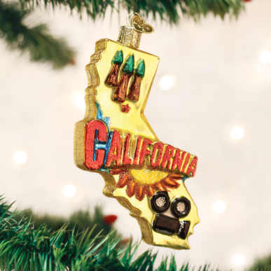 STATE OF CALIFORNIA ORNAMENT