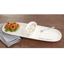 TAILGATE CERAMIC SECTIONED SERVER SET