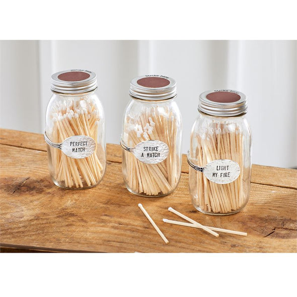 PRESERVE JAR MATCHES