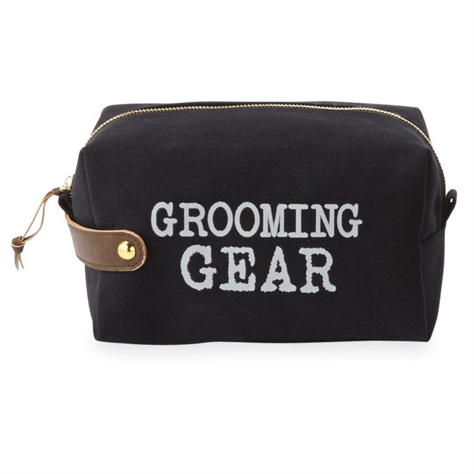 GROOMING GEAR CANVAS DOPP KIT
