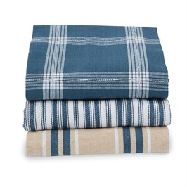 BISTRO STACKED DISH TOWELS