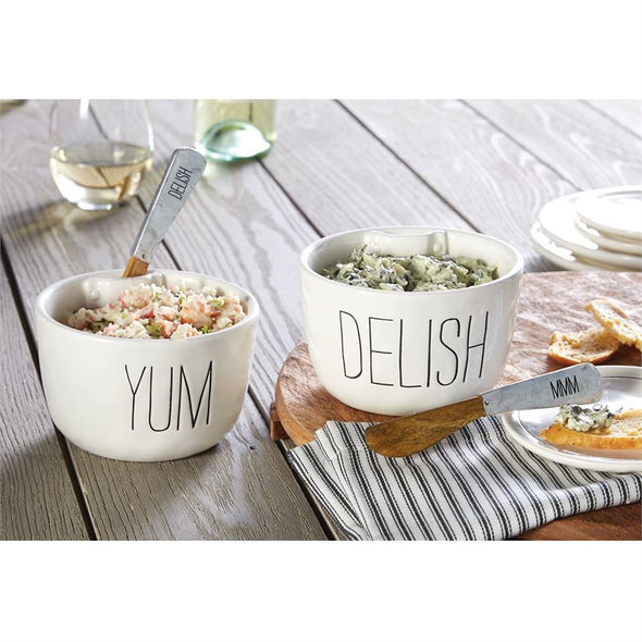 DELISH & YUM DIP BOWL SETS