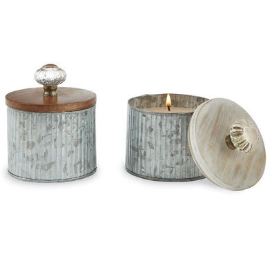 TIN DOOR KNOB CANDLE