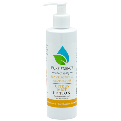 NATURAL HAND AND BODY LOTION 8 OZ - CITRUS MIST