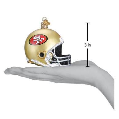 SF 49ER'S HELMET ORNAMENT