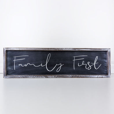 FAMILY FIRST SIGN