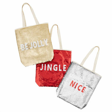 HOLIDAY SWIPE TOTES