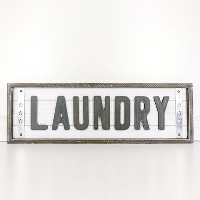 LAUNDRY SHIPLAP SIGN