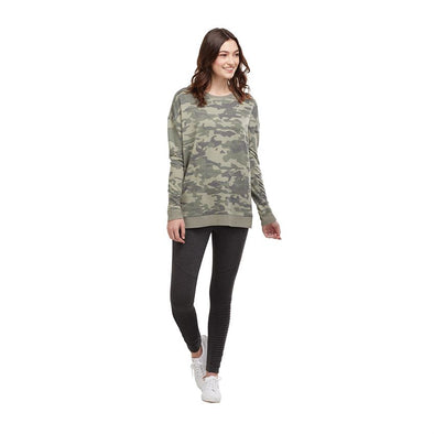 OVERSIZED CAMO SWEATSHIRT