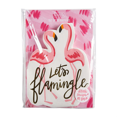 SUMMER ICON NAPKINS-FLAMINGO