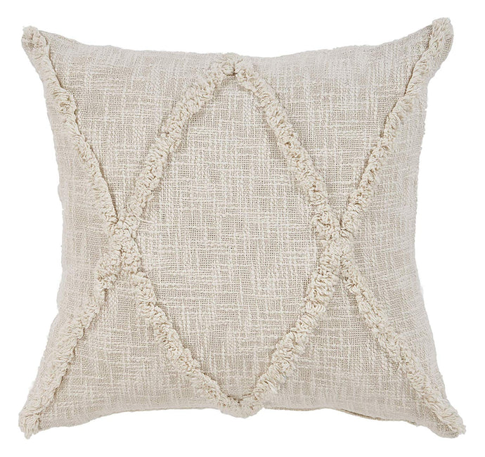 CARLTON KHAKI DIAMONDS INDOOR THROW PILLOW 20