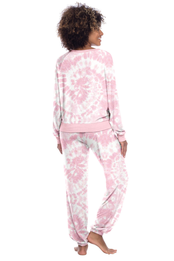 STAR SEEKER LOUNGE SET-POP TIE DYE