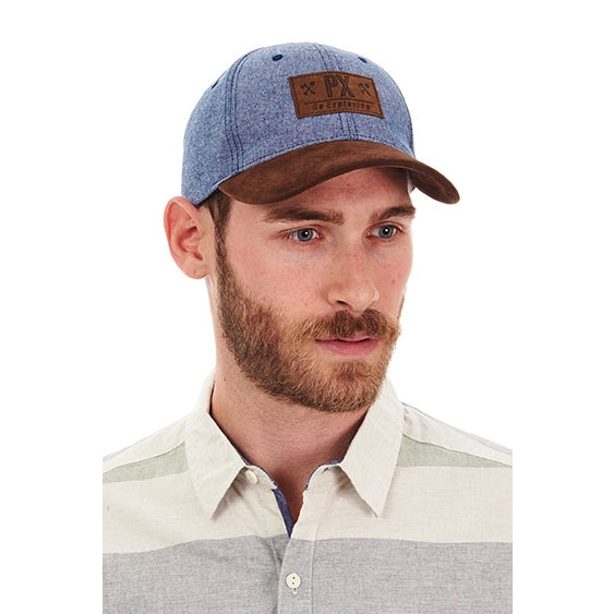 GRAYSON CURVED BRIM HAT
