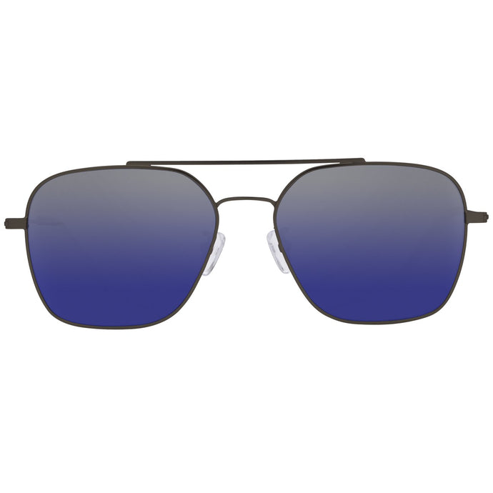 ACE - BRUSHED BROWN + GREY BLUE GRADIENT POLARIZED LENS