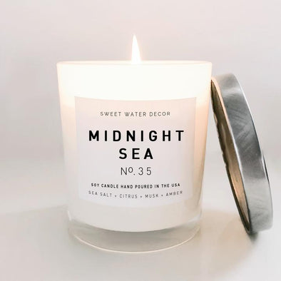 MIDNIGHT SEA SOY CANDLE