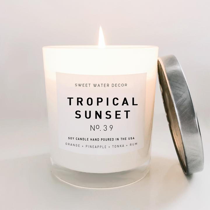 TROPICAL SUNRISE SOY CANDLE