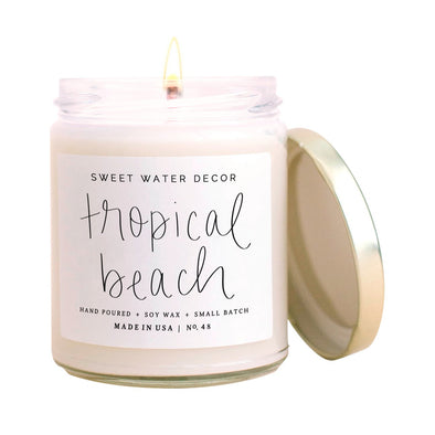 TROPICAL BEACH SOY CANDLE