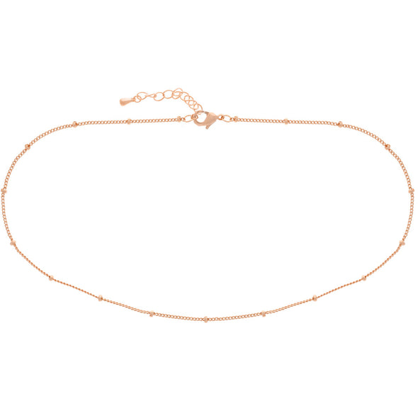 SATELLITE CHOKER: ROSE GOLD