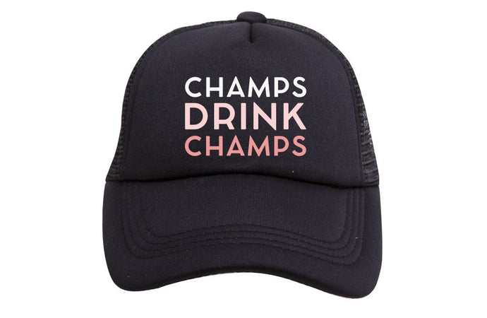 CHAMPS DRINK CHAMPS TRUCKER (ROSE)