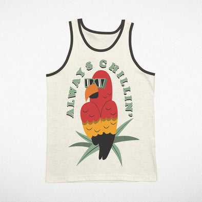 CHILL PARROT TEE