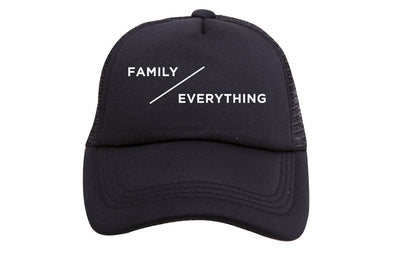 FAMILY OVER EVERYTHING TRUCKER