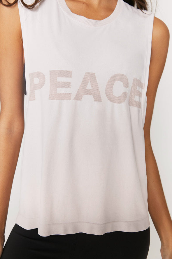 PEACE ACTIVE FLOW TOP - FADED QUART