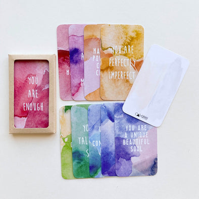 TAKKI PRINTS CARDS-AFFIRMATIONS COLLECTION