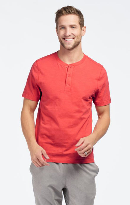 RETREAT HENLEY SHORT SLEEVE