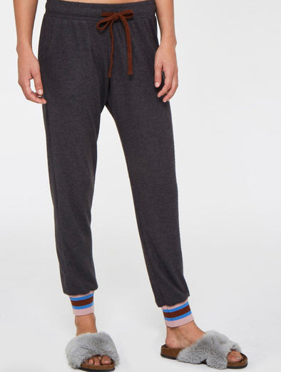 FINN COZY PANT - HEATHER CHARCOAL