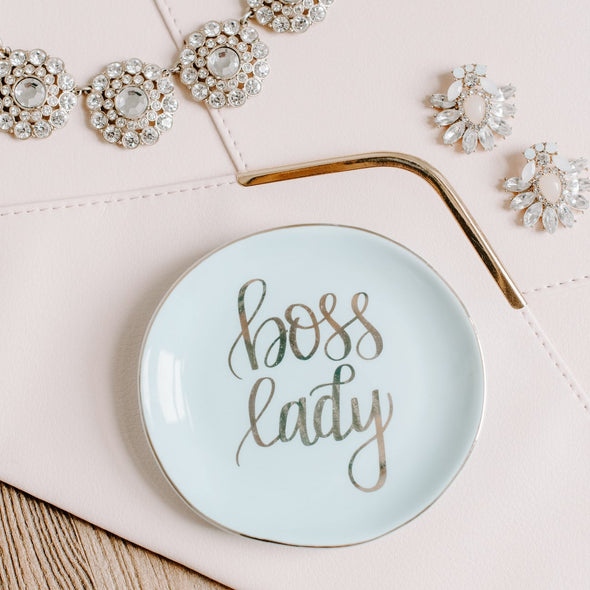 BOSS LADY JEWELRY DISH