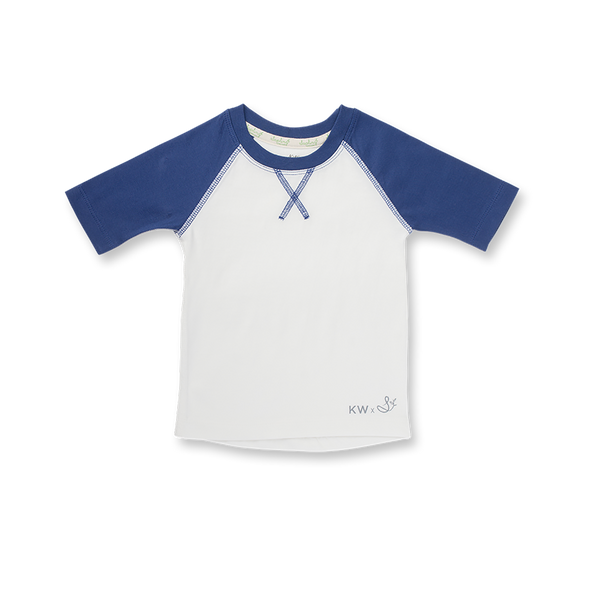 JET STREAM BLUE BABY BASEBALL T-SHIRT