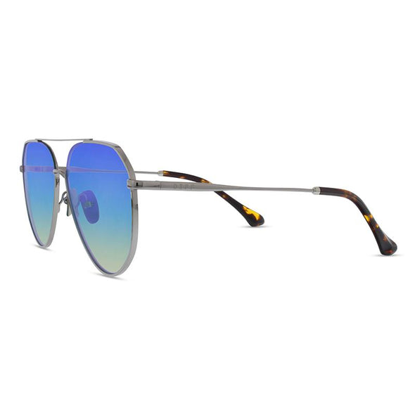 DASH - LIGHT GUNMETAL + ICE BLUE POLARIZED LENS
